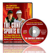 The Confident Sports Kid Audio & Workbook Image